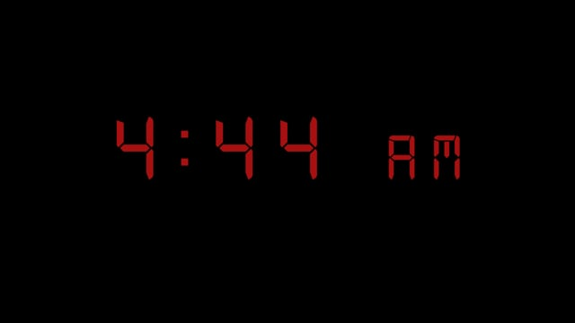 Alarm Clock: 4:44 AM